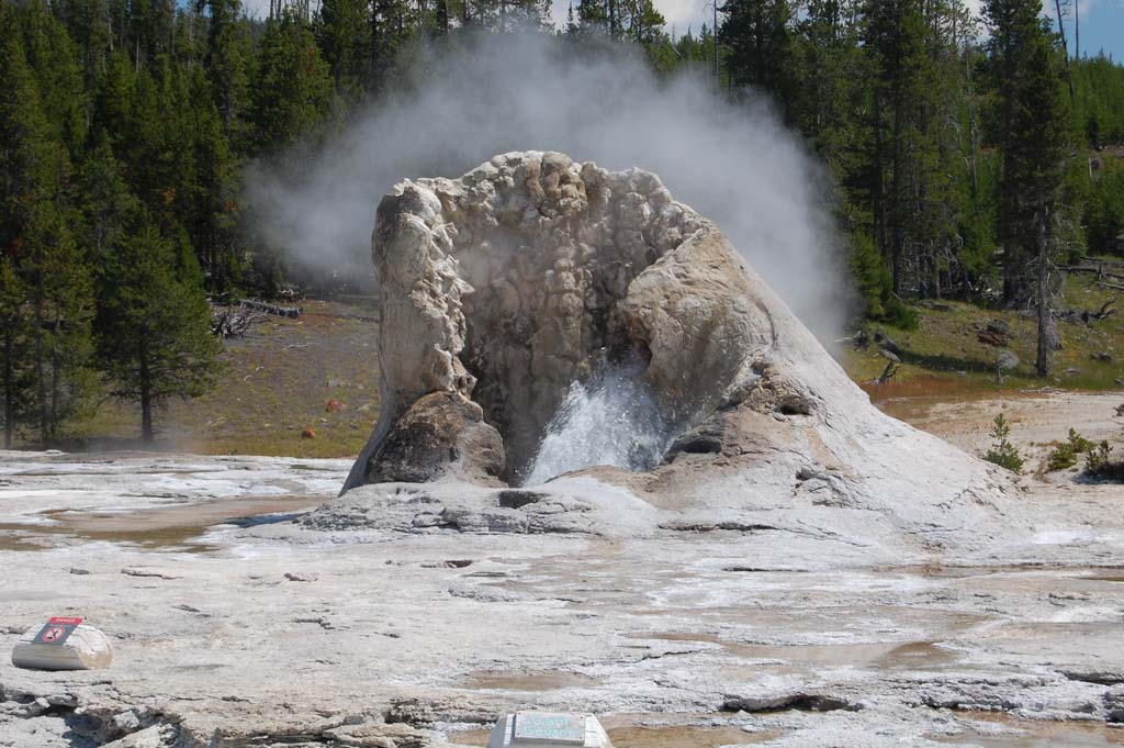 Giant geyser is unpredicatble, but shoots as high at 250 feet when it does blow