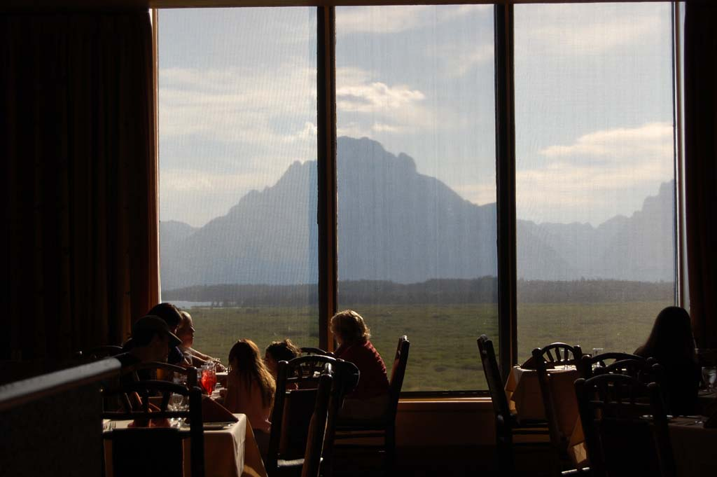 Jackson Lake Lodge Mural Dining Room
